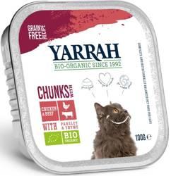 (dla kota) kawałki kurczaka z wołowiną BIO 100 g