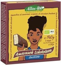 Baton amarantusowy w gorzkiej czekoladzie BIO 140 g (5 szt.)