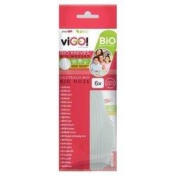 Biodegradowalne noże viGO!, 6 sztuk