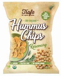 Chipsy z ciecierzycy z rozmarynem bezglutenowe BIO 75 g