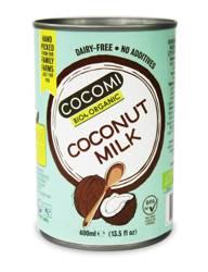 Coconut milk - napój kokosowy bez gumy guar w puszce (17 % tłuszczu) BIO 400 ml