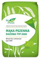 Mąka pszenna razowa typ 2000 BIO 1 kg