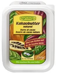 Tłuszcz kakaowy (kostka) fair trade BIO 250 g