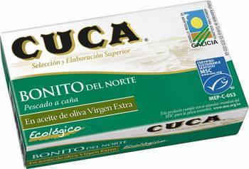 Tuńczyk bonito w BIO oliwie z oliwek 112 g