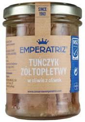 Tuńczyk żółtopłetwy filety w oliwie z oliwek 200 g (130 g) (słoik)