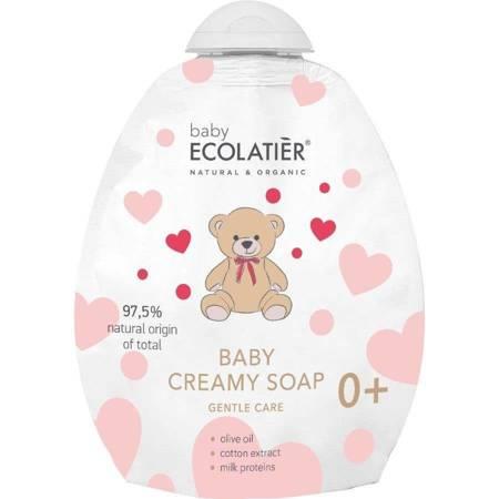 BABY Kremowe mydło dla niemowląt 0+ Delikatna pielęgnacja, DOY-PACK ,250 ml ECOLATIER
