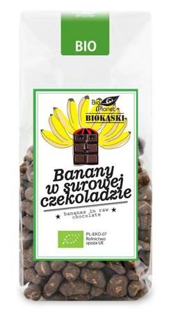 Banany w surowej czekoladzie BIO 250 g