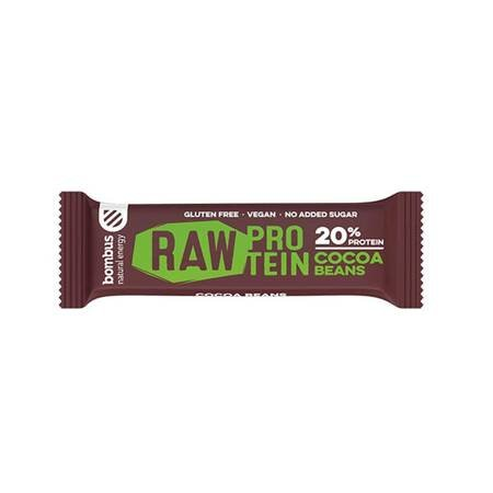 Baton RAW PROTEIN z ziarnami kakaowca BEZGL. 50 g