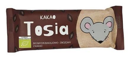 Baton bakaliowo - zbożowy z kakao BIO 37 g