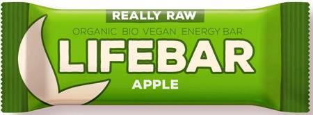 Baton daktylowy z jabłkami i cynamonem raw bezglutenowy BIO 47 g