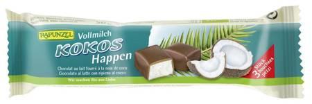 Baton mleczny z nadzieniem kokosowym BIO 50 g