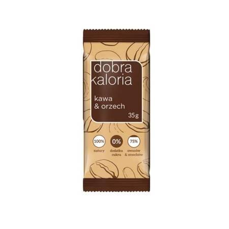 Baton owocowy kawa & orzech 35 g