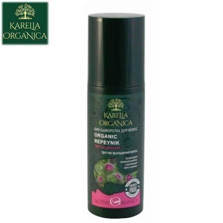 Bio Serum Do Włosów Organic Repeynik 100 % Naturalne - Przeciwko Wypadaniu Włosów  150Ml - Karelia Organica