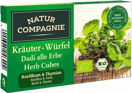 Bulion - kostki ziołowe z bazylią i tymiankiem BIO 80 g