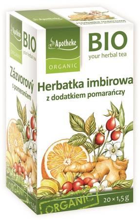 Herbatka imbir - pomarańcza BIO (20 x 1,5 g) 30 g