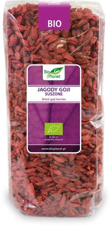 Jagody goji suszone BIO 1 kg