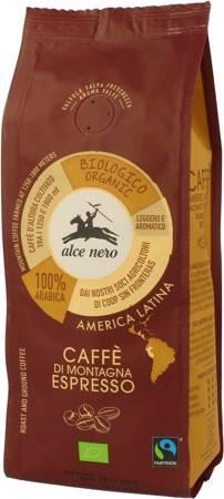 Kawa mielona arabica 100 % espresso fair trade górska BIO 250 g