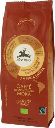 Kawa mielona arabica 100 % moka fair trade górska BIO 250 g