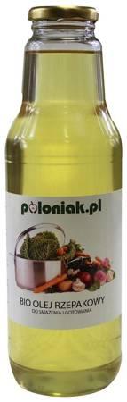 Olej rzepakowy do smażenia i gotowania BIO 750 ml