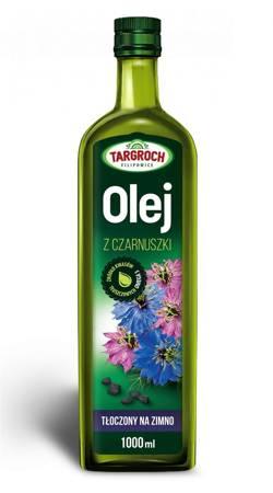 Olej z Czarnuszki - Tłoczony Na Zimno 1000 ml