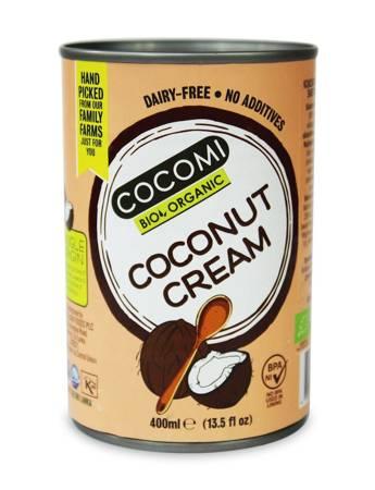 Zagęszczony produkt kokosowy bez gumy guar w puszce BIO 400 ml